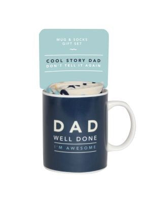Dads Mug & Socks Pack Wandin Florist Gifts Yarra Valley Lilydale