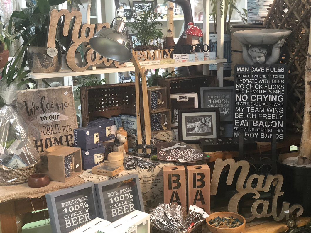 Dads Giftware Florist Choice Wandin Florist Basket Gifts Yarra Valley Lilydale
