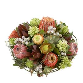 Native Bouquet Wandin Florist Wedding Flowers Arrangement Yarra Valley Lilydale Flowers Dandenong Ranges