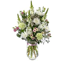 Splendor Wandin Florist Wedding Flowers Arrangement in a Vase Office Flowers Yarra Valley Lilydale Dandenong Ranges
