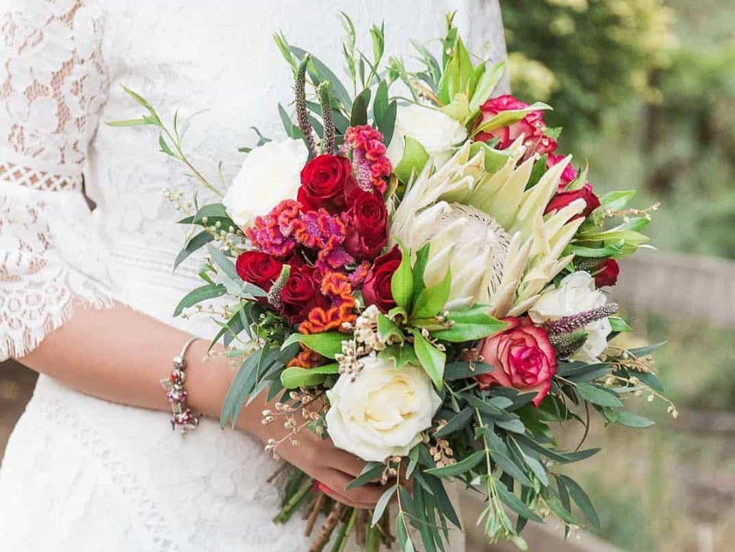 Wedding Flowers Bouquet Floral Arrangements Wandin Florist Yarra Valley Lilydale Dandenong Ranges