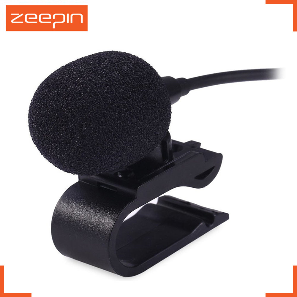 Professionals Car Audio Microphone 3.5mm Jack Plug Mic Stereo Mini Wired External Microphone for Auto DVD Radio 3m Long