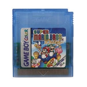 Nintendo GBC Video Game Cartridge Console Card Super Mario Bros English Language Version