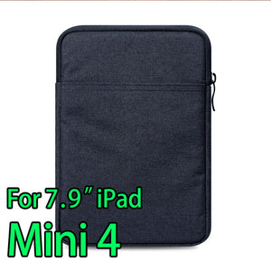 Tablet Sleeve Pouch Case for iPad mini 2 3 4 iPad Air 1/2  Pro 9.7 inch Cover thick AKR 2017