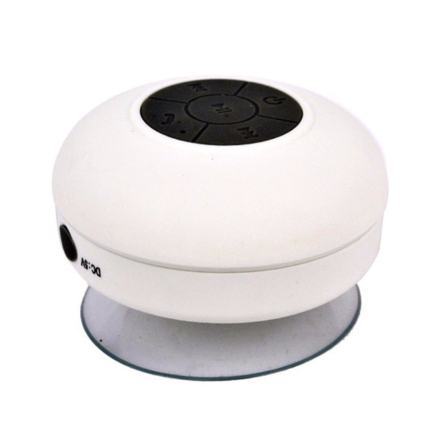 Mini Portable Subwoofer Shower Wireless Waterproof Bluetooth Speaker Handsfree Receive Call Music