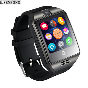 SENBONO SBN-Q18 Touch Screen Smart Watch support Anti-lost Bluetooth Notification NFC Pedometer for Andorid Phone