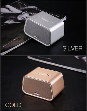 Baseus Bluetooth Speaker Mini Portable Outdoor Wireless Speaker 3D stereo Music surround Player altavoz bluetooth haut parleur