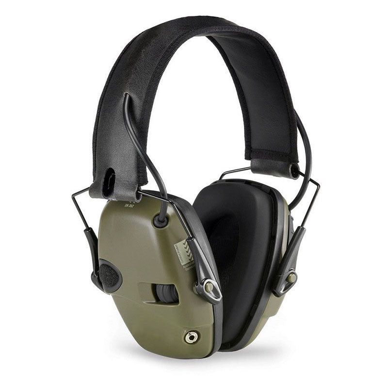 Tactical Headset Noise Reduction Canceling Electronic Sound Pickup Single Side Switch Dual Channel Tactical Pickup