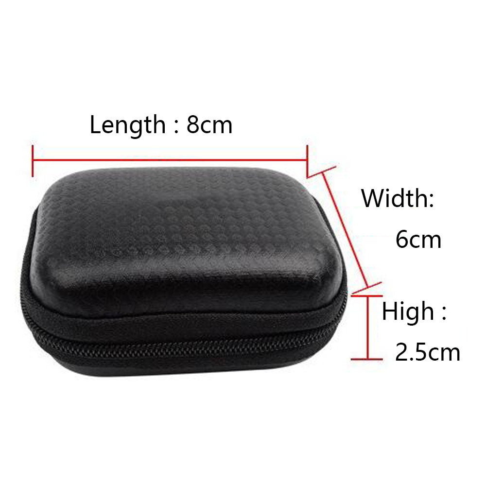 SHOOT Portable Mini Box EVA Black Camera Bag Case For Gopro Hero 6 5