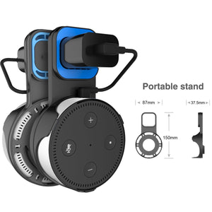 Wall Mount Stand Sperker  universal Support Speakers Bracket sound Stand with USB Cable for Echo