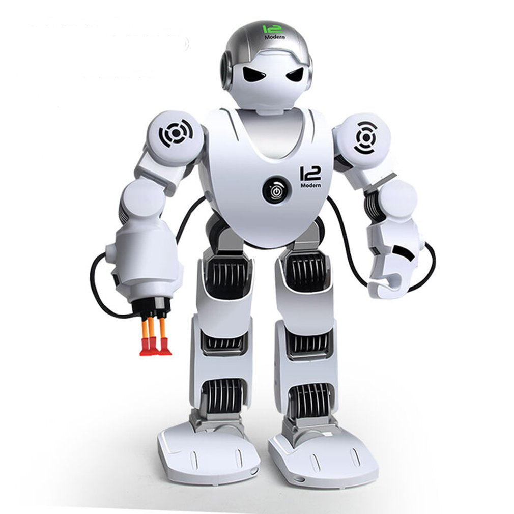 OCDAY Intelligent Humanoid Robot K1 dance / Fighting / soccer assembled all ready Kids' Electronics Toy New Year Gift For Boys