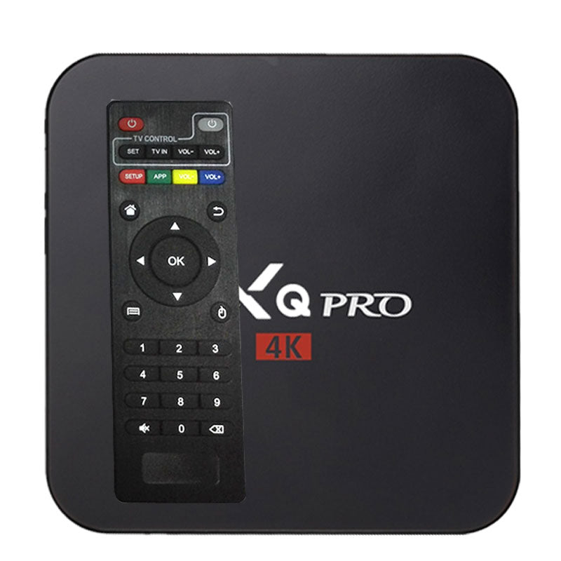 Android 7.1 tv box MXQpro  4k smart quad core  IPTV