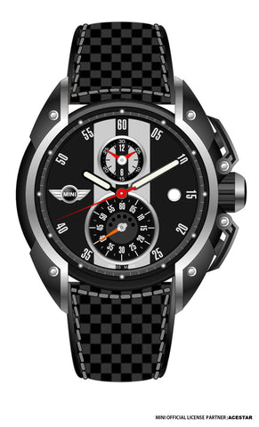 Mini Cooper Grey Dial Gents Watch