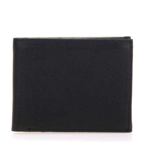 MYWALIT Men Wallet w/Zip Coin Section