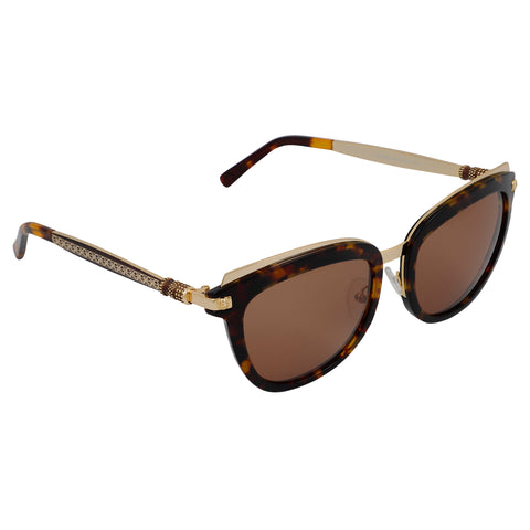 Rusace Ladies Sunglasses (Gradient Brown)