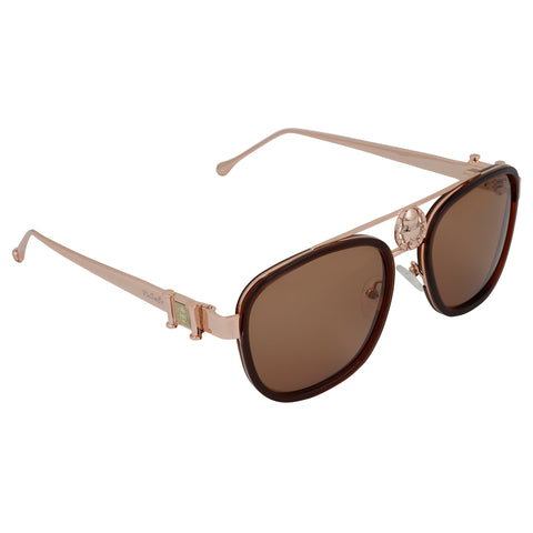 Rusace Unisex Sunglasses (Brown)