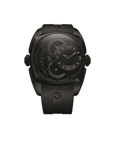 Cyrus Klepcys Chrono Full DLC Darkness Unisex Watch