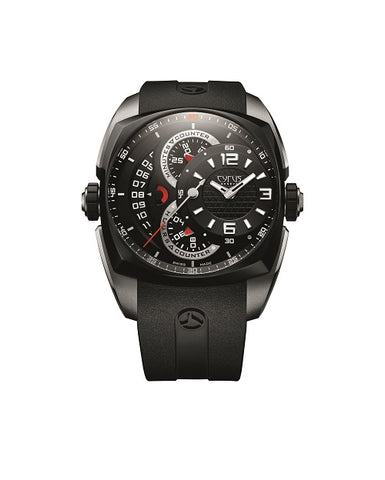 Cyrus Klepcys Chrono Full Steel & DLC Unisex Watch