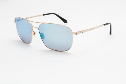 Bentley Gents Aviator Sunglasses (Blue)