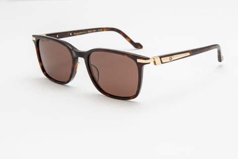 Bentley Gents Aviator Sunglasses (Brown)