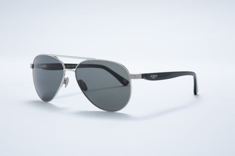 Bentley Gents Aviator Sunglasses (Gray)