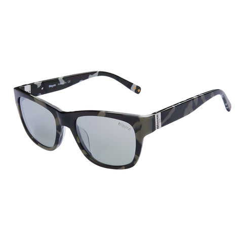 Blauer Sunglasses Gents (Green Shaded Silver)