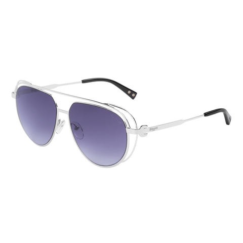 Blauer Sunglasses Ladies (Silver Shaded Smoke)