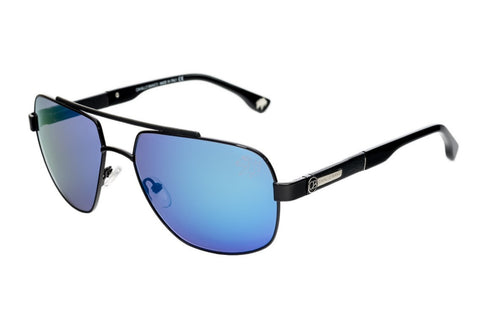 CAVALLO BIANCO SUNGLASSES GENTS (BLUE MIRROR/GRAY)