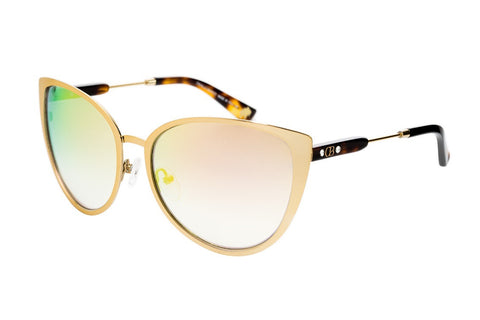 CAVALLO BIANCO SUNGLASSES LADIES (GOLD MIRROR/GRAY )