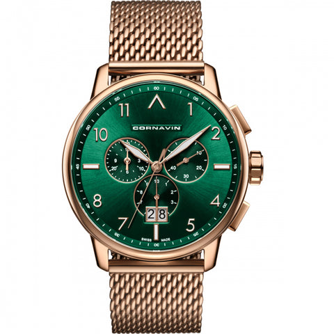 Cornavin Gents Green Dial Watch