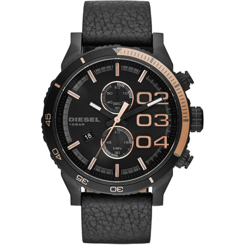 Diesel Black Dial Gents Watch