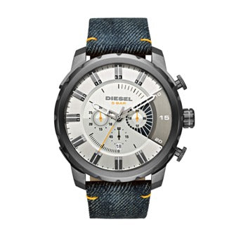 Diesel White Dial Gents Watch