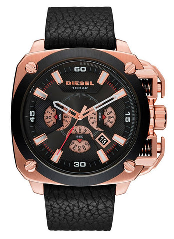 Diesel Rose Gold Case Gents Watch