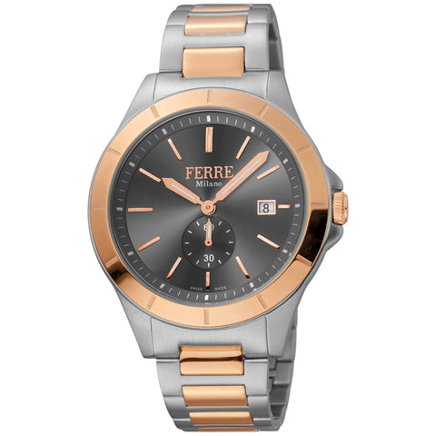 Ferre Milano Anthracite Dial Gents Watch