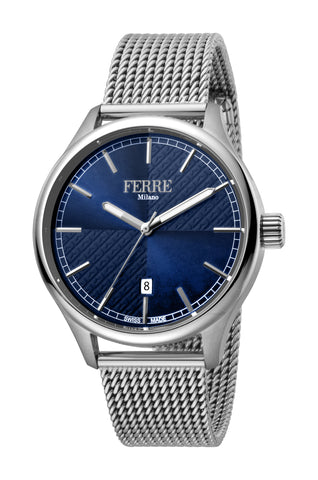 Ferre Milano Blue Dial Gents Watch
