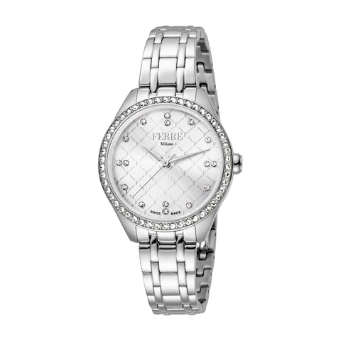 Ferre Milano Silver Dial Ladies Watch