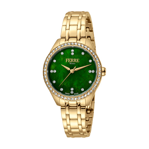 Ferre Milano  Green Dial Ladies Watch