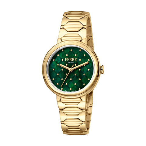Ferre Milano GP Metal Bracelet Ladies Watch