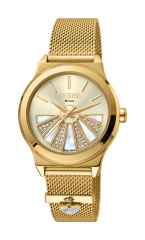 Ferre Milano GP Mesh Bracelet Ladies Watch