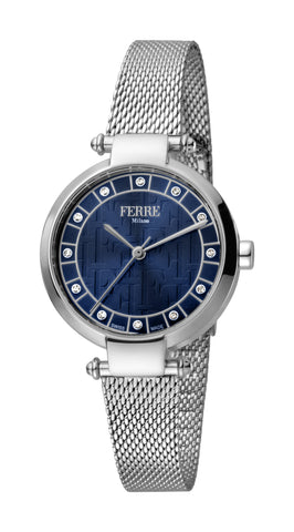 Ferre Milano Ladies Blue Dial Watch