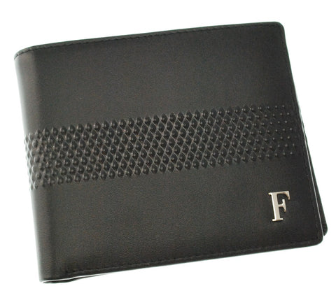 FERRE MILANO  Gents Nappa Black Wallet  Leather goods