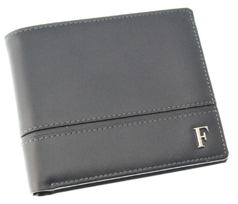 Ferre Milano Wallet Nappa Navy + Dark grey