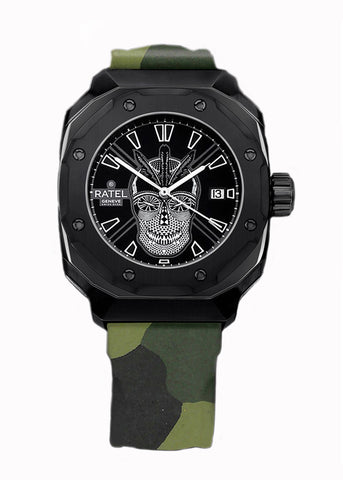 Ratel Gents BLACK SKULL Watch