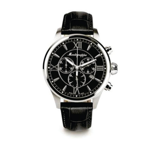 Montegrappa Watch Fortuna Gents Black Dial