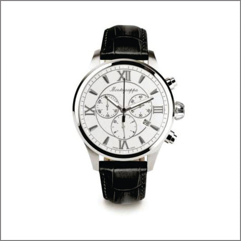 Montegrappa Watch Fortuna Gents Silver Dial