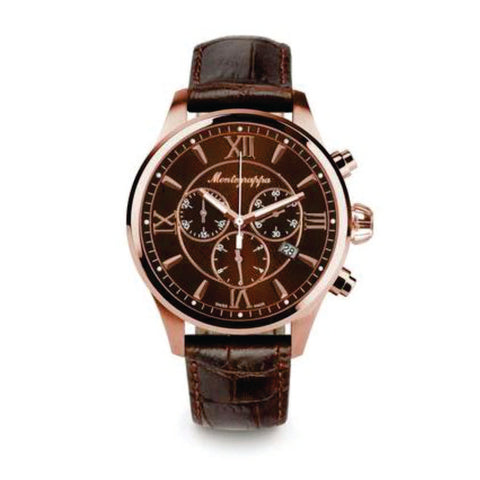 Montegrappa Watch Fortuna Gents Brown Dial