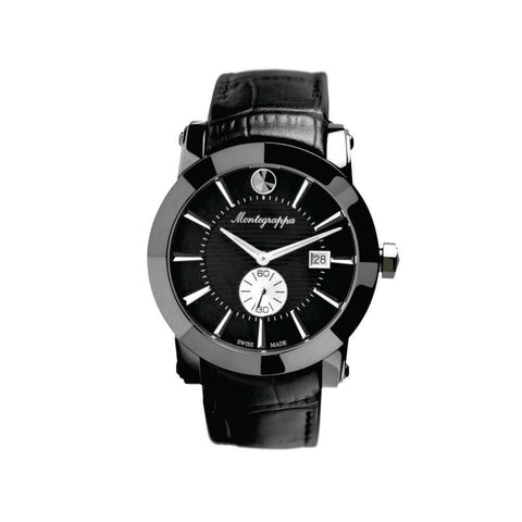 Montegrappa Watch NeroUno Gents Black Dial