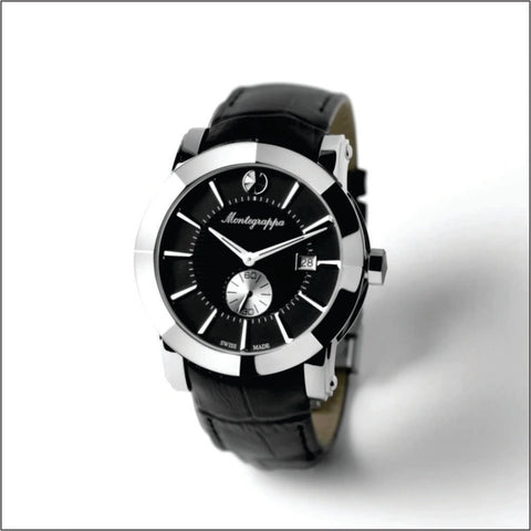 Montegrappa Watch NeroUno Black Dial