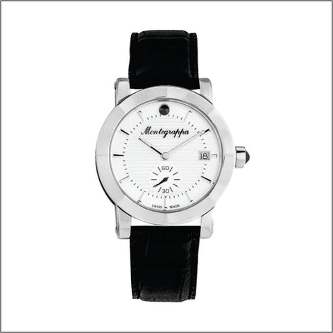 Montegrappa Watch NeroUno Gents Silver Dial