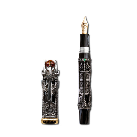 Montegrappa The Lord Of The Rings L.E., Fountain Pen, Silver, Medium, Unisex